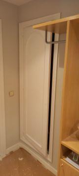 Lacado de puertas blanco y plastico liso gris con veloglas (2)