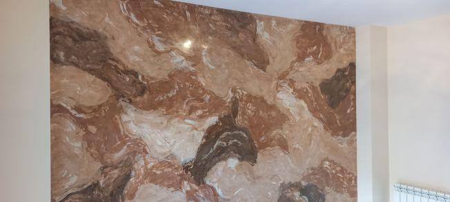 Estuco Marmol Piedra Marron 5 colores (4)