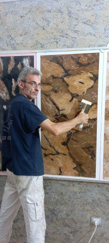 Estuco Marmol Piedra Marron (6)