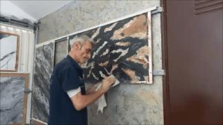 Estuco Marmol Piedra con vetas (1)