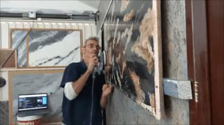 Estuco Marmol Piedra con vetas (3)