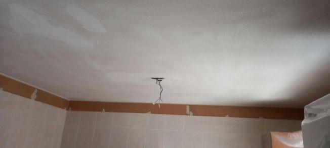 Lijado de techo cocina con lijadora (3)