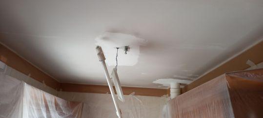 Plastecido de techo cocina y pasillo (1)