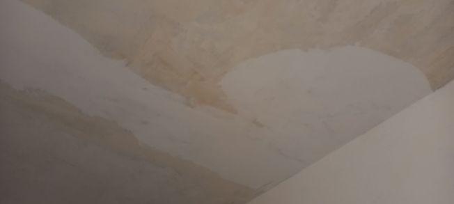 Plastecido de techo cocina y pasillo (5)