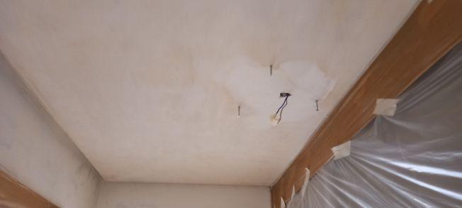 Plastecido de techo cocina y pasillo (6)