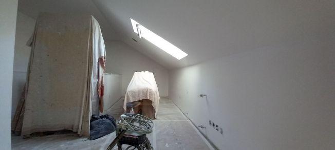Lijado - 1 mano de plastico sideral en techos y paredes (10)