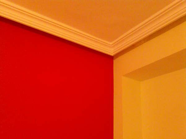 Pintura Plastica Color Marron Claro y Rojo  PINTORES EN