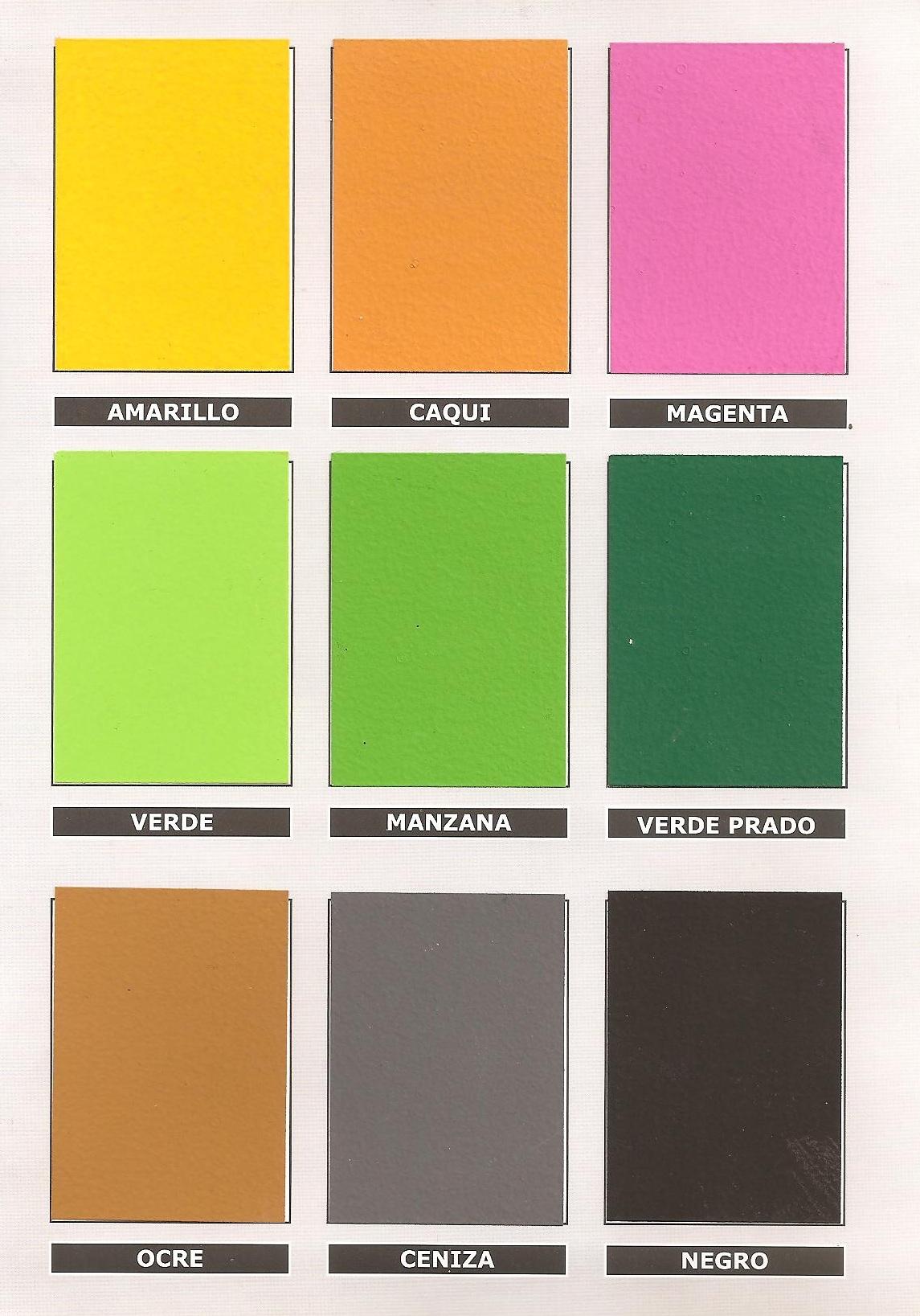 Carta de Colores Oscuros  PINTORES EN MADRID  PINTOR EN