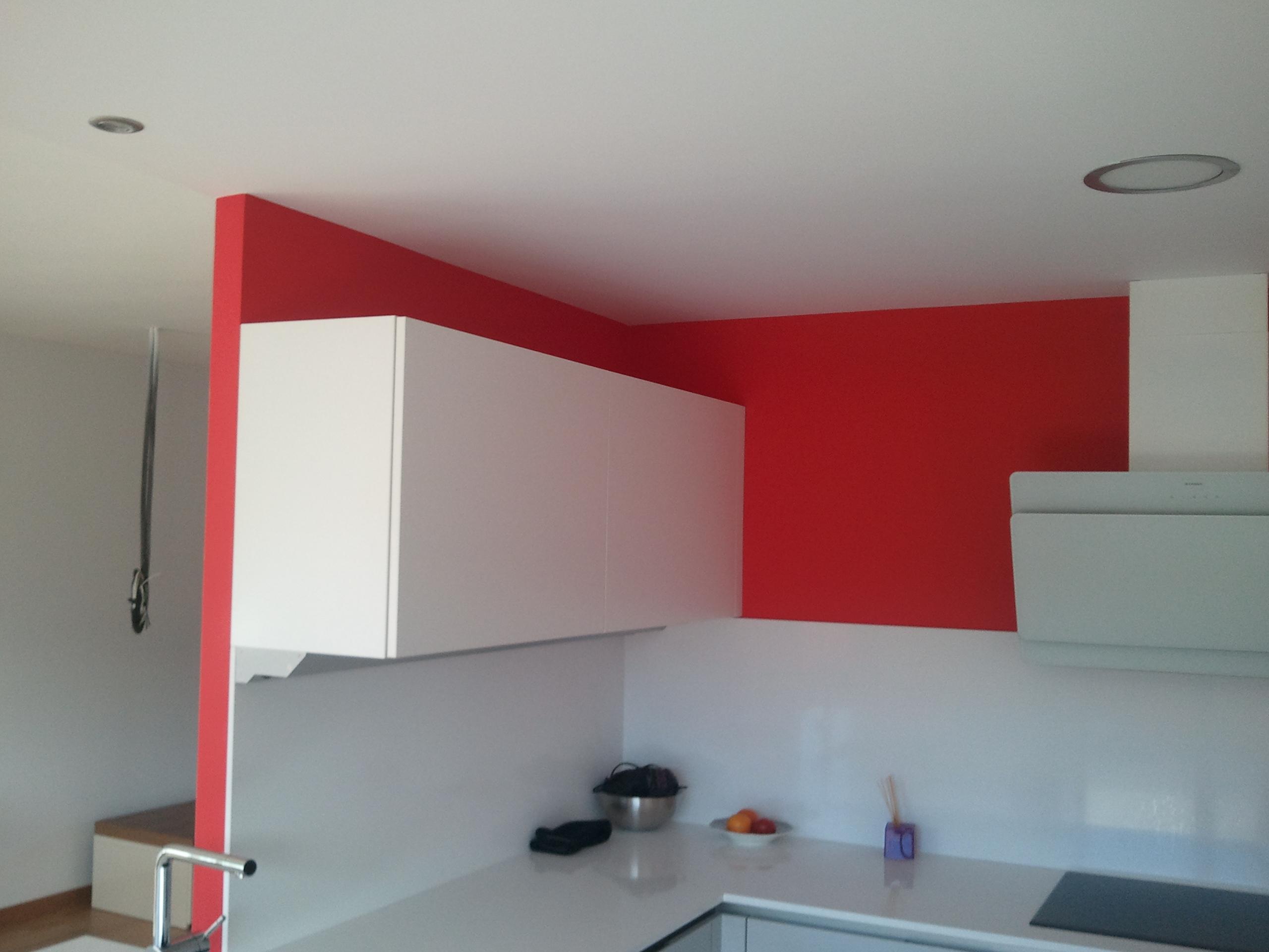 Esmalte al Agua Color Rojo  PINTORES EN MADRID  PINTOR