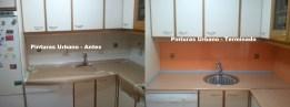 Pintar Azulejos en Naranja