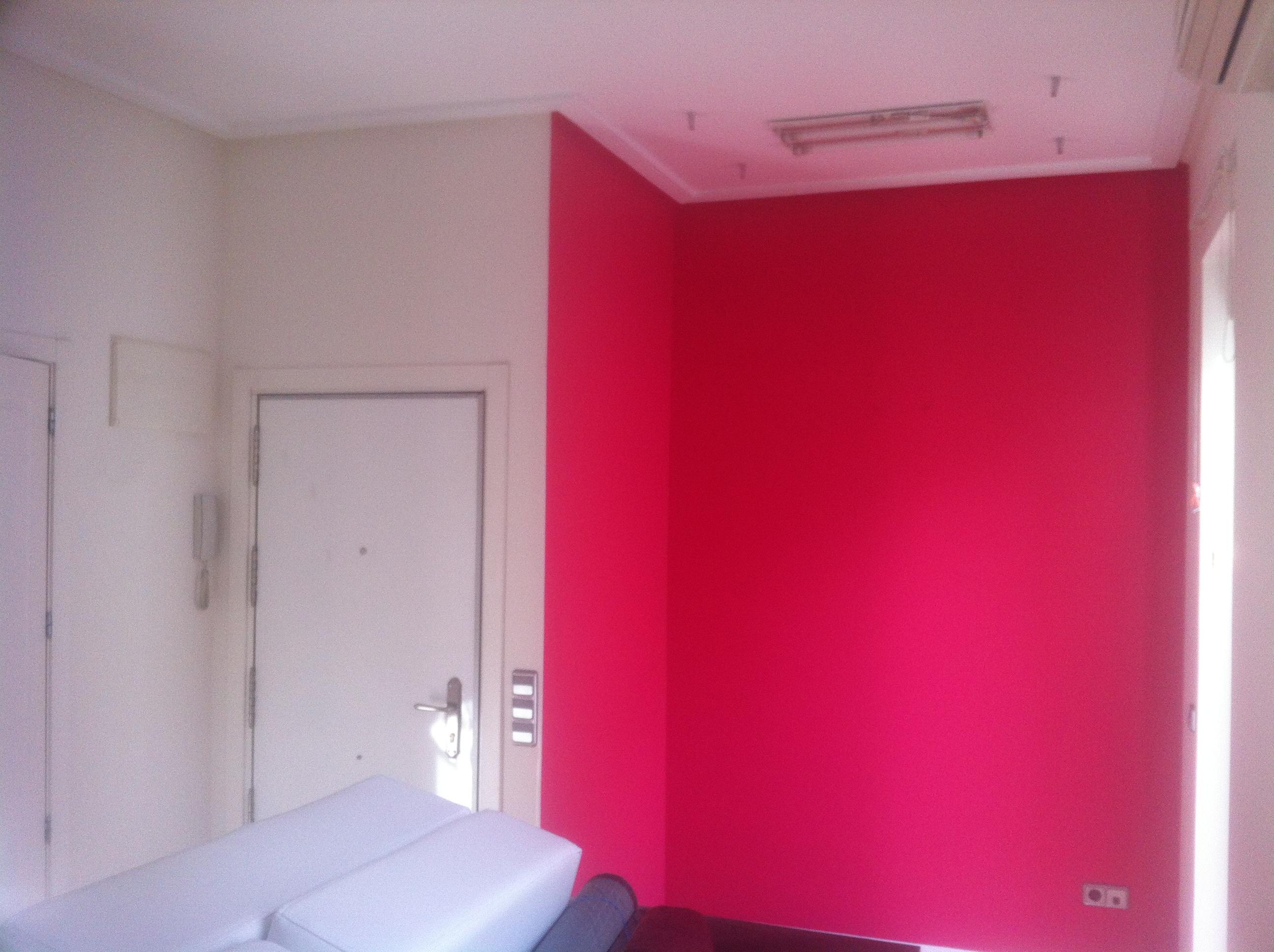 Esmalte al Agua Color Rosa Frambueja  PINTORES EN MADRID  PINTOR EN MADRID  PINTORES MADRID