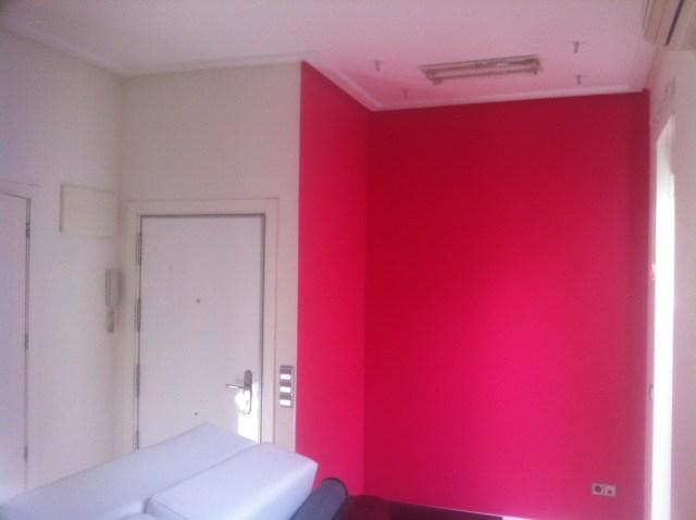 Esmalte al Agua Color Rosa Frambueja  PINTORES EN MADRID