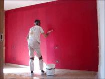 Aplicndo Esmalte pymacril color granate 6