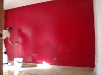 Aplicndo Esmalte pymacril color granate 8