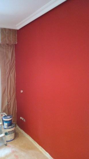 Plastico color rojo