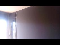 Estado de la pared antes del Estuco Mitiko Espatuleado con Veteado