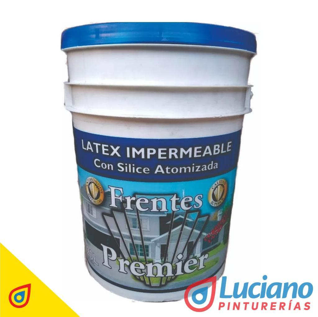 Premier Latex Silice Frentes Azul Electrico 4 lts.