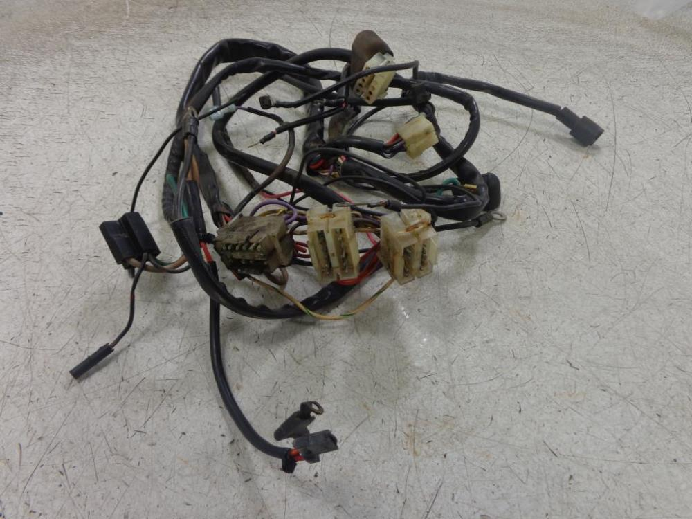 medium resolution of 1992 harley davidson fxst c softail 5 sp wiring harness main wire