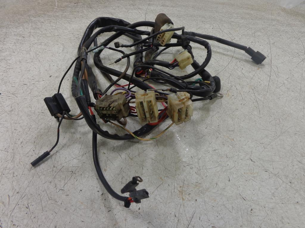 hight resolution of 1992 harley davidson fxst c softail 5 sp wiring harness main wire