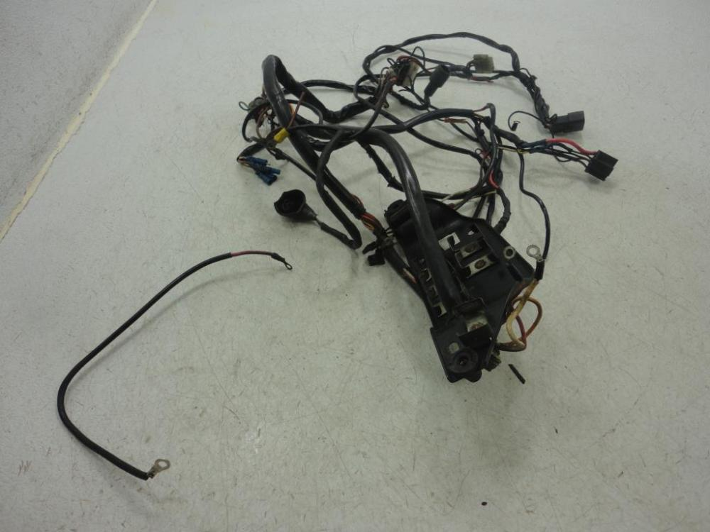 medium resolution of details about 86 harley davidson fxr fxrd grand tour main wire wiring harness