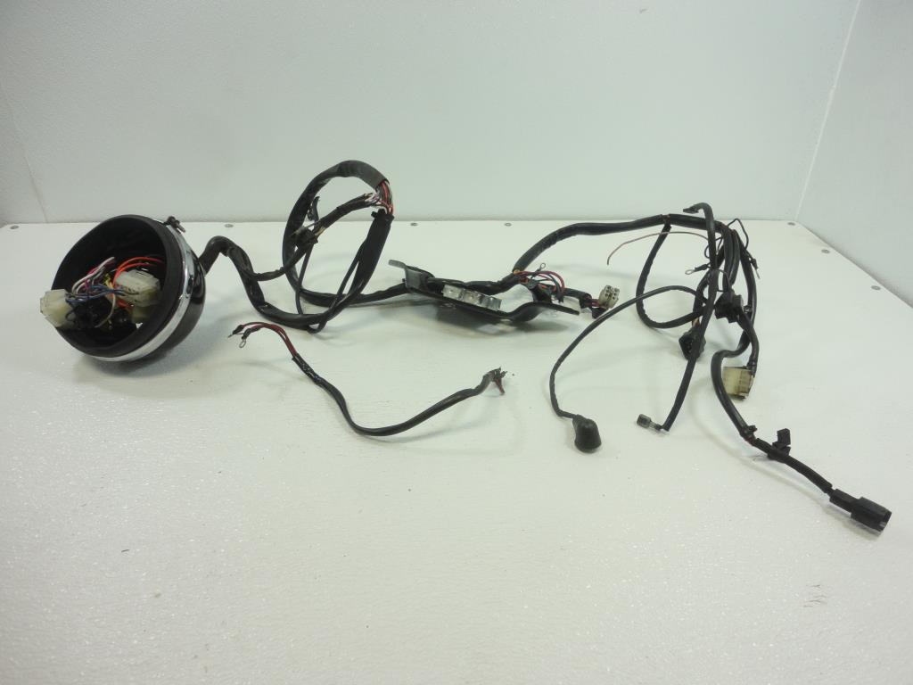 hight resolution of 1994 harley davidson fxr sp sport edition wiring harness main wire 69551 94