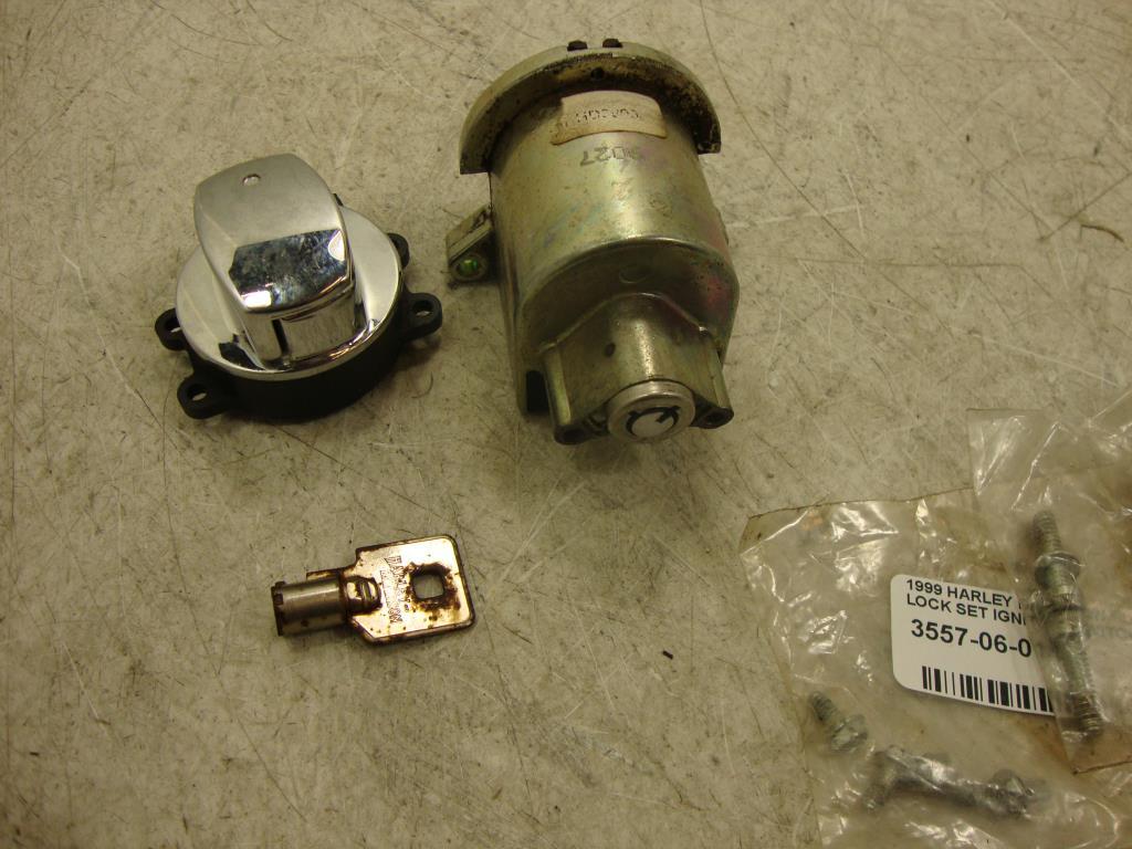 harley davidson ignition key number dodge ram 2500 front suspension diagram 94 11 road king lock set fork