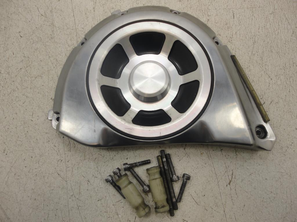 hight resolution of  used 2002 2009 yamaha xv1700 pc road star warrior pulley cover transfer case plate 1