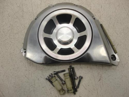 small resolution of  used 2002 2009 yamaha xv1700 pc road star warrior pulley cover transfer case plate 1