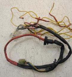 used 2004 yamaha xv1700 road star warrior rear wiring wire harness pigtail [ 1024 x 768 Pixel ]