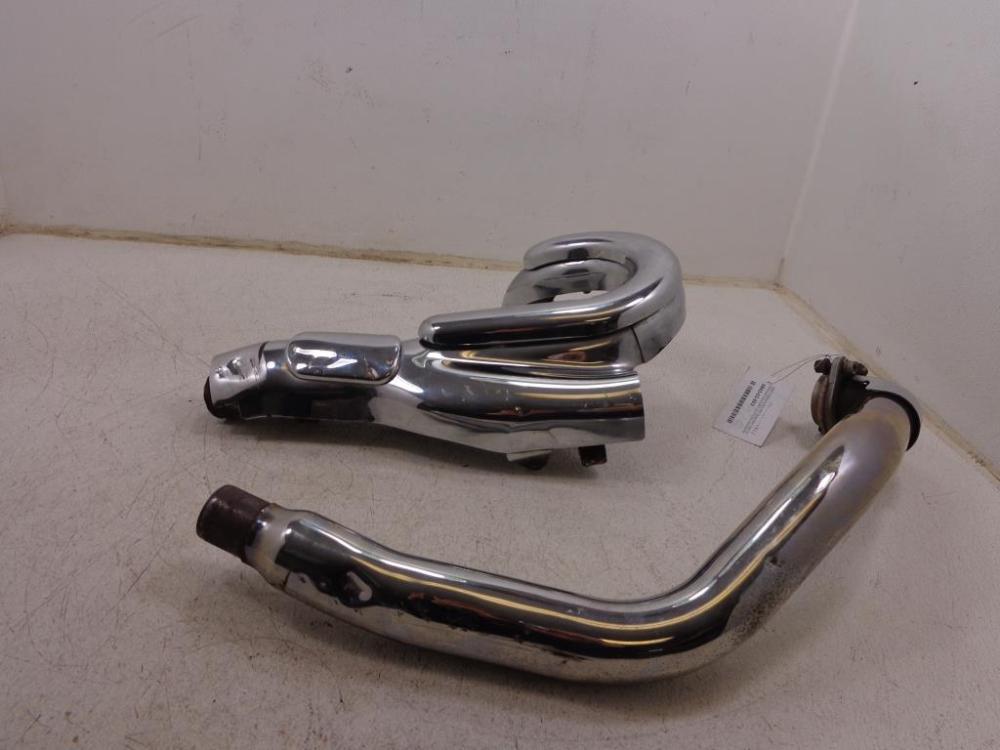 medium resolution of  used 2002 2009 yamaha road star warrior exhaust muffler headers head pipe xv1700pc