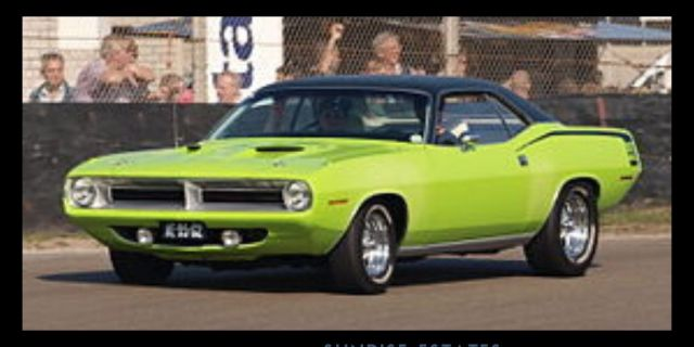 1970 Plymouth Hemi Barracuda Pinxcars American Muscle Cars