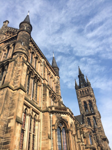 The University of Glasgow in Scotland.