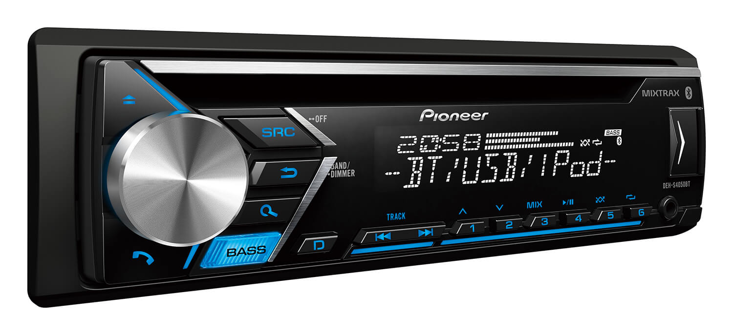 For Iphone To Rca Wiring Diagram Pioneer Deh S4050bt Car Audio Cd Receivers Pioneer