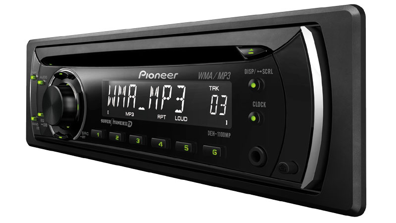 CD Receiver With MP3/WMA Playback, Remote
