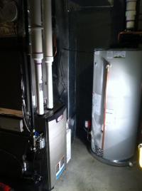 Lennox Gas Furnace & Hot Water Tank - Pioneer Heating ...