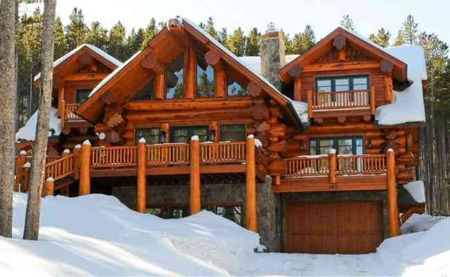Pioneer Log Homes Of Bc Copper Mountain 4250 Sf