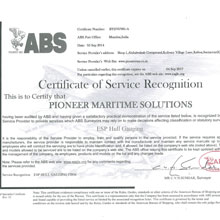 CLASS RULES CERTIFICATION:PIONEER MARITIME SOLUTIONS PVT.LTD.