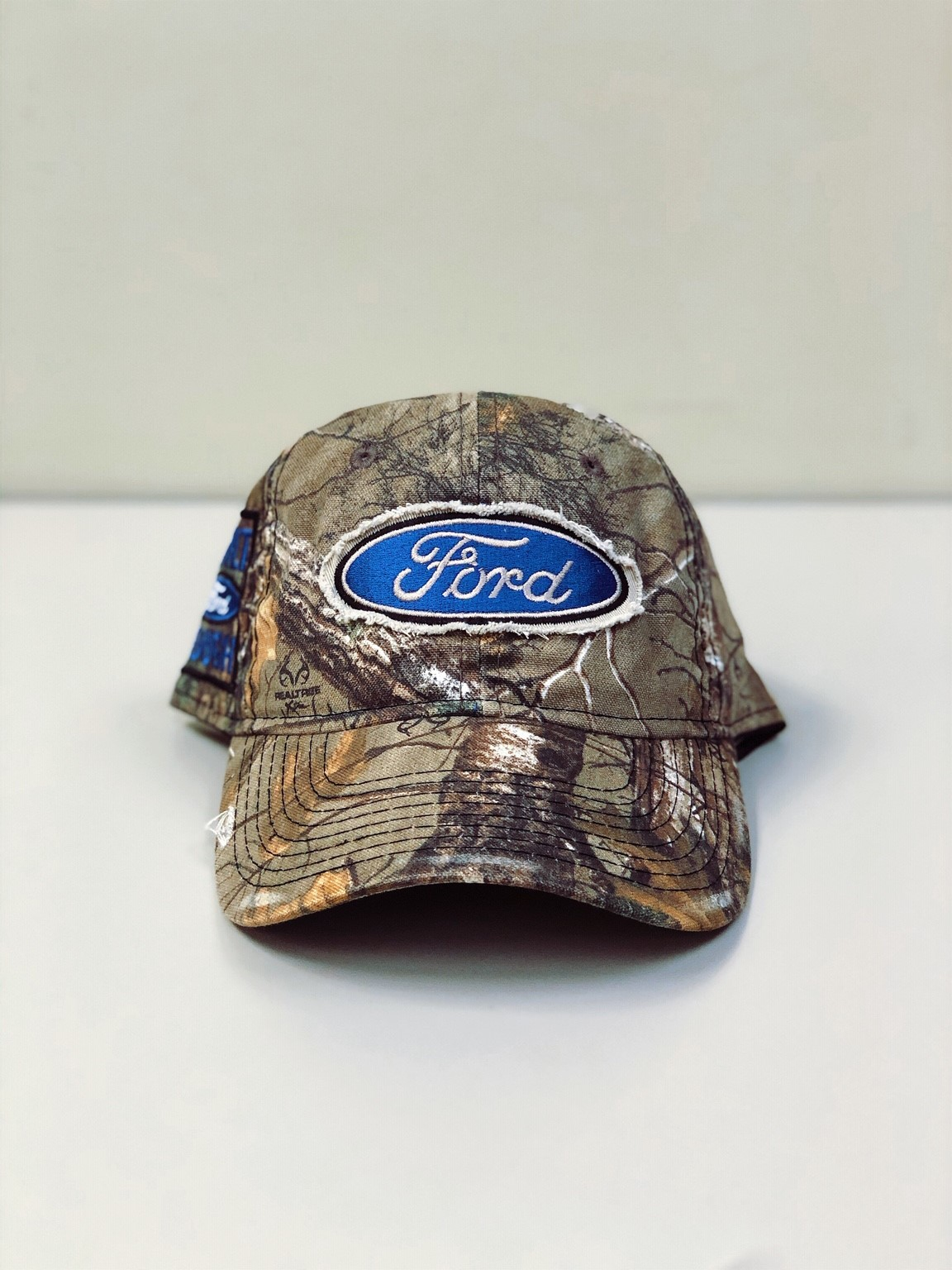 Ford Built Tough Cap Front View - Officially Licensed for sale by Pioneer Promo