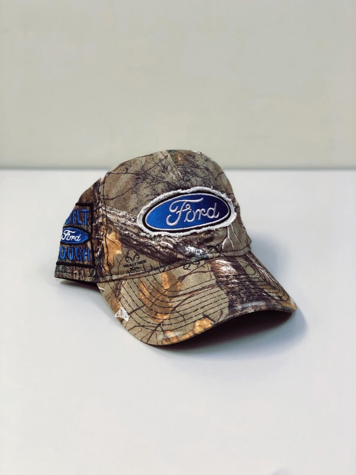 Ford Built Tough Cap Right Side View Officially Licensed for sale by Pioneer Promo | Pioneer Promo