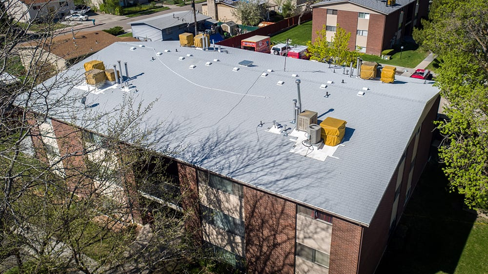 Nebeker Apartments Pioneer Roofing Contractor Utah