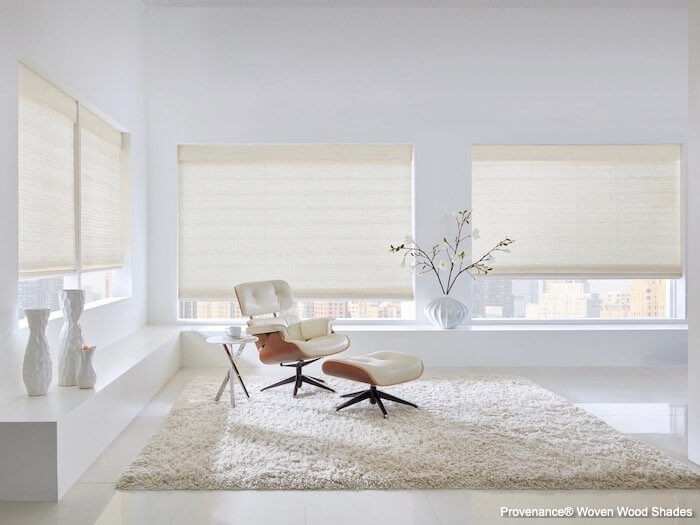 Provenance Woven Wood Shades - Maritime - Living Room