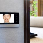 Install a video doorbell to communicate with people at your door.