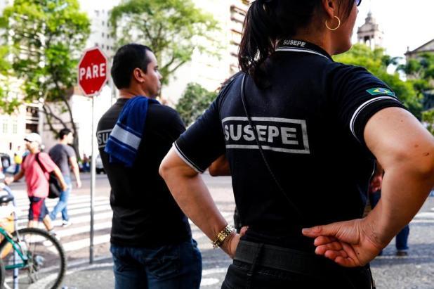Em Caxias, agentes penitenciários e policiais civis aderem paralisação contra pacote do Piratini Anderson Fetter/Agencia RBS