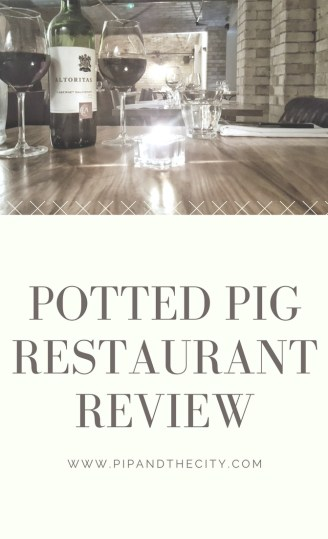 Potted Pig Restaurant Review