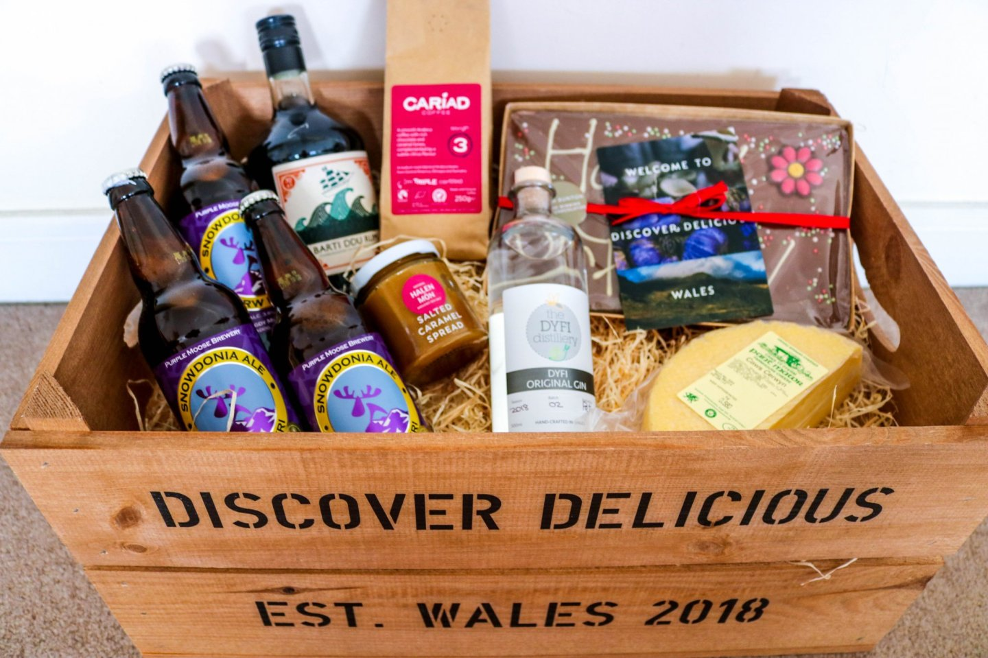 Welsh inspired recipes - Dinner menu using Welsh produce
