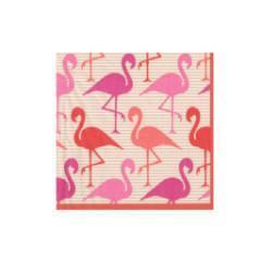 servilleta pequeña flamencos rosas caspari