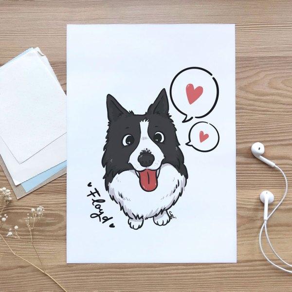 retrato-ilustrado-mascota-pipasdegirasol-1080x1080px