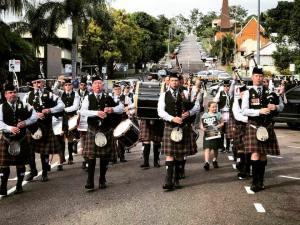 City of Ipswich Pipe Band