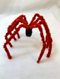 Very Easy Pipe Cleaner Spider  20 minute beginner project ...