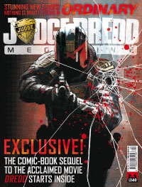 Judge Dredd Megazine 340 cover